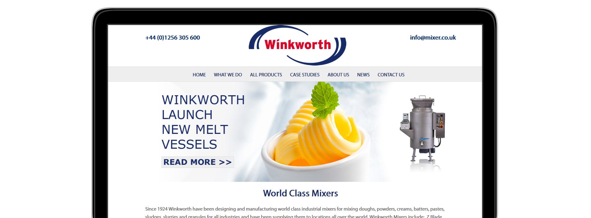 Winkworth Mixers